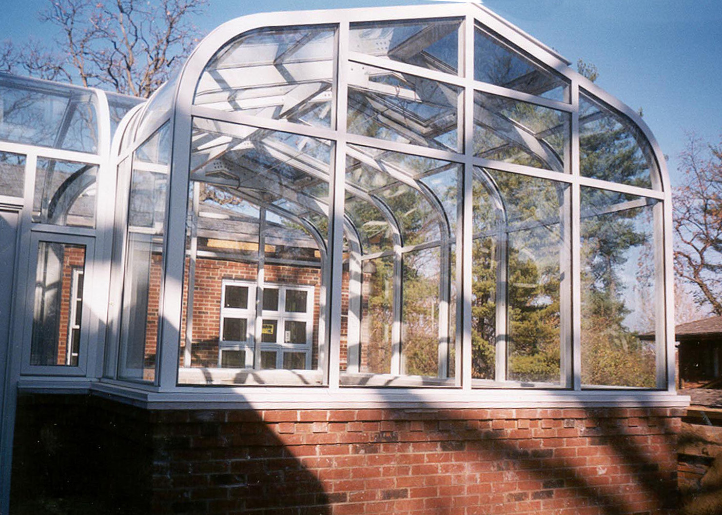 Curved Eave Cathedral Solarium Sunshine Rooms